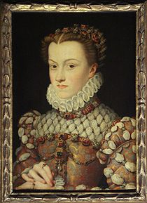 Elizabeth of Austria by Francois Clouet
