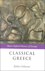 "Cover of ""Classical Greece"" by Robin Osborne"