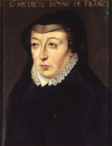 Catherine de' Medici in black