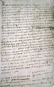 Katherine Howard to Thomas Culpepper, 1541