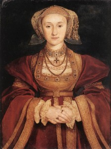 The (in)famous portrait of Anne of Cleves by Hans Holbein