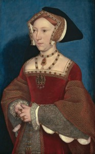 One of the few contemporary likenesses of Jane Seymour (Hans Holbein)